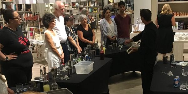 Mocktail Demonstration/Class at Indigo Books & Music, Inc.