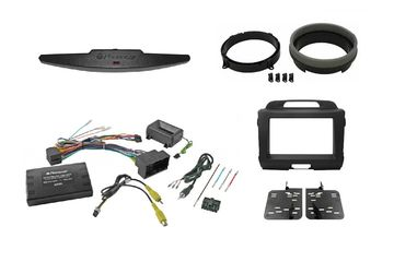 Speakers Adaptors Stereo Replacement Double DIN Steering Controls ISO Plug FAKRA Antenna Harness RCA