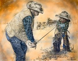Cowboys, western cowboy art, cowboy paintings, cowboy drawings, cowboy prints, western art, western