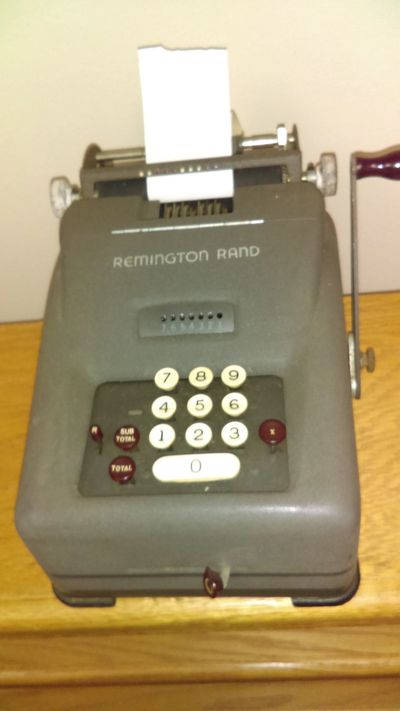 Adding Machine (not currently used)