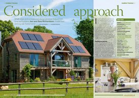 Build It magazine, December 2019, self-build, oak frame house, build your own home, timber frame