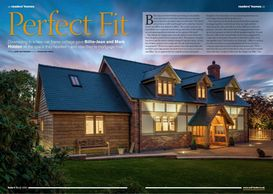 Build It magazine, March 2020, oak-framed cottage, Welsh Oak Frame, self-build, oak build, timber