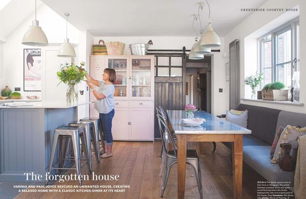 Country Homes & Interiors, May 2019, house renovation, kitchen makeover, country house project