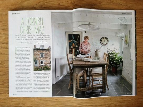 Coast magazine, December 2018, Scandi house, coastal cottage, seaside home, house renovation