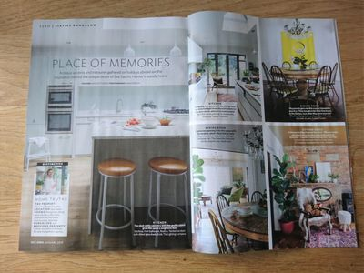 25 Beautiful Homes magazine, January 2019, house renovation, kitchen makeover, bathroom makeover