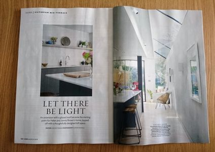 25 Beautiful Homes, March 2019, London house project, kitchen extension, loft conversion, interiors