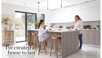 Good Homes, February 2020, kitchen extension, house renovation, neutral interiors, lasting design