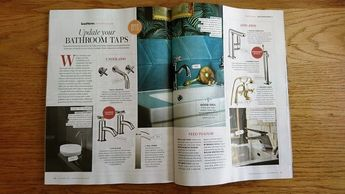 Good Homes magazine, November 2017, buyer's guide taps, bathroom projects, kitchen projects, taps