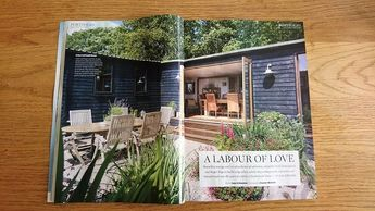 Homebuilding & Renovating magazine, November 2017, self-build, log cabin, house renovation