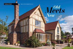 Homebuilding & Renovating, March 2020, oak frame house, oak-frame, period property, oak frame living