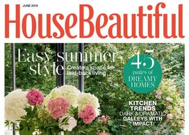 House Beautiful magazine, June 2019, house renovation, Jane Crittenden, interior design journalist