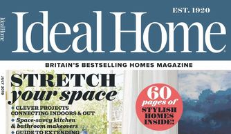 Ideal Home magazine, July 2019, house renovation, Jane Crittenden, interior design journalist