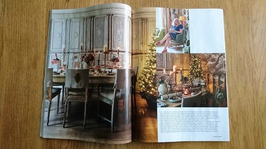 Period Living magazine, January 2018, Christmas interiors, antiques, London Victorian house