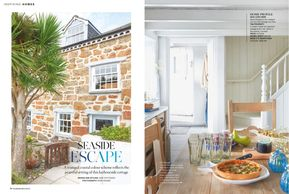 House Beautiful magazine, July 2019, Cornwall cottage, holiday cottage, seaside, cottage renovation