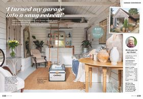 Ideal Home magazine, April 2019, garden room, vintage interiors, garden retreat, antique ideas
