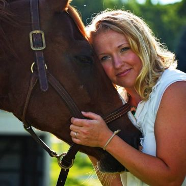 Amber Burkhardt Sidebottom, horses, equine assisted, mental health, counseling, michigan