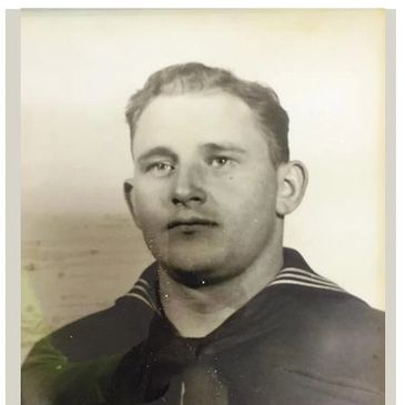 Our WWII Museum is full of local and regional heroes and their stories.  This is Bill Curtis, USCG.