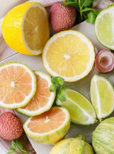 Lemons, Limes, Oranges and Other Citrus Fruits Scents, Fragrance Oils, Essential Oils