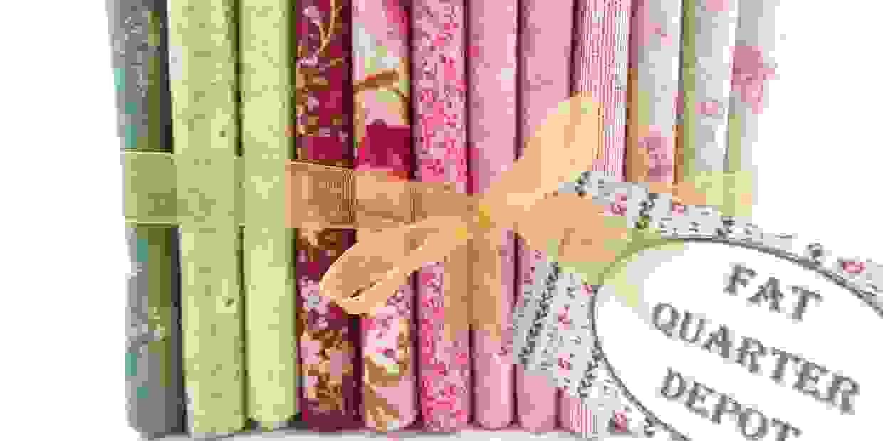 Fat Quarter Depot brand fat quarter bundles are exclusively available from Pinewater Quilting