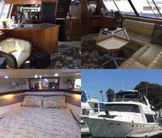 47' Bayliner 4788 1994, with Hino Diesels, Generator, loaded and ready to go, just $165,000 at Tocci Yachts, 925 306-2516 Pittsburg, CA 94565