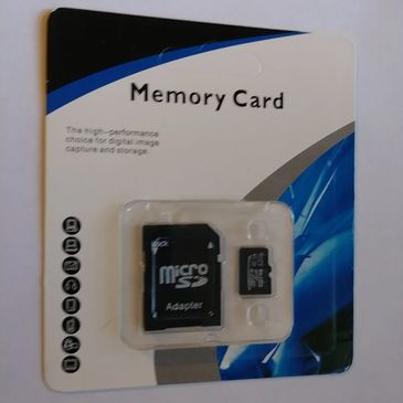 32 GB SD Storage Card