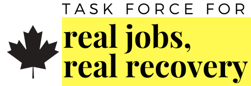 Task Force For Real Jobs, Real Recovery