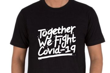 TOGETHER WE FIGHT COVID19 T-SHIRTS SELLER ONLINE