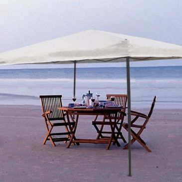 beach rental, shade tent, shade canopies, shade, ezup, tail gate tent, siesta key, sarasota, florida