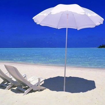 beach umbrellas, beach rental, shade, beach, siesta key, sarasota, florida