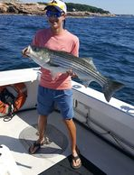 Striped Bass caught off Gloucester MA