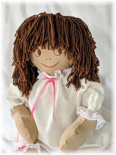 The Intrix Doll in her debut (Nomex®) outfit.