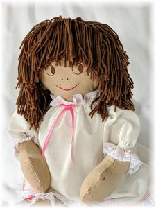 Jenny, the Intrix Doll, in her debut Nomex outfit.