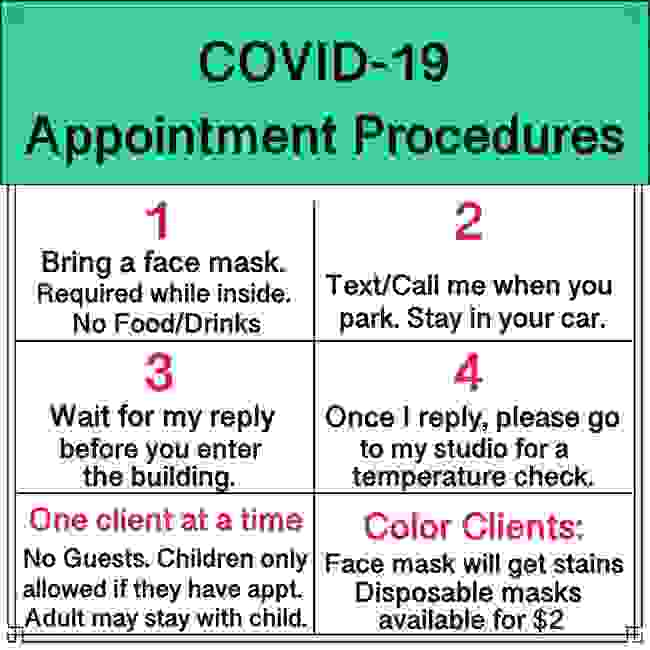 COVID-19 Appointment Procedures