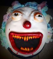 Scary Clown Cake