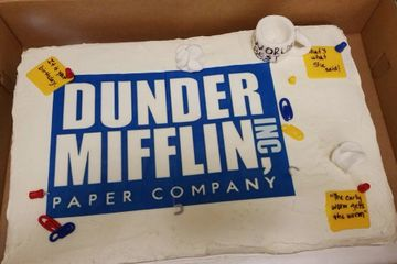 Specialty Cake Dunder Mifflin The Office