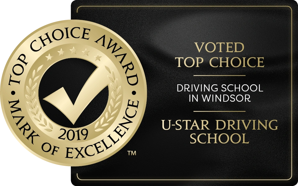 2019 TOP CHOICE DRIVING SCHOOL IN WINDSOR