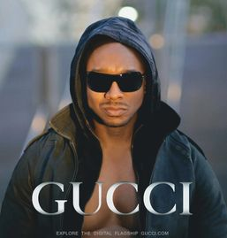Advertising with gucci.com - D. Hall Celebrity Supermodel & Actor