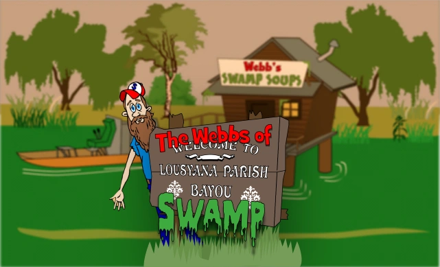 The Webbs of Lousyana Parish Bayou Swamp™