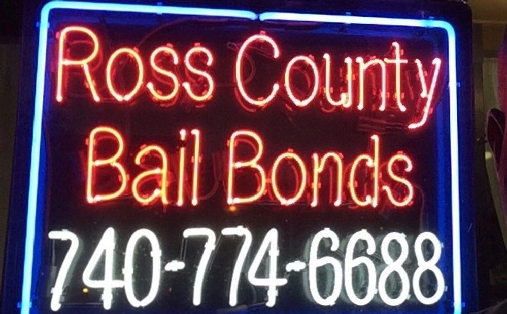 Aaden Bail Bonds 740-774-6688 office 14 S. Paint St. Suite 9, Chillicothe OH. Ross County Bail Bonds