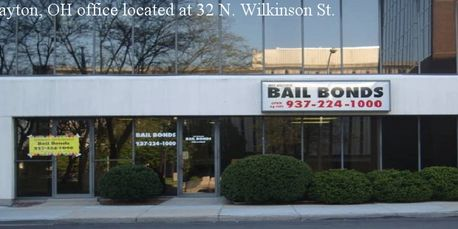 Jeff Brown Bail Bonds office located at 32 N. Wilkinson in Dayton Ohio.