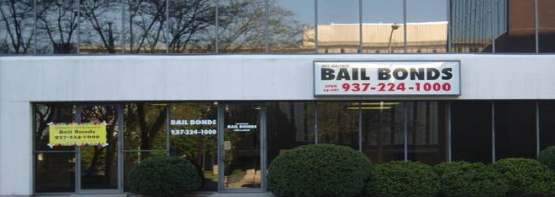 Jeff Brown Bail Bonds 937-224-1000 Dayton, Ohio.  Closest to the jail and Court house.