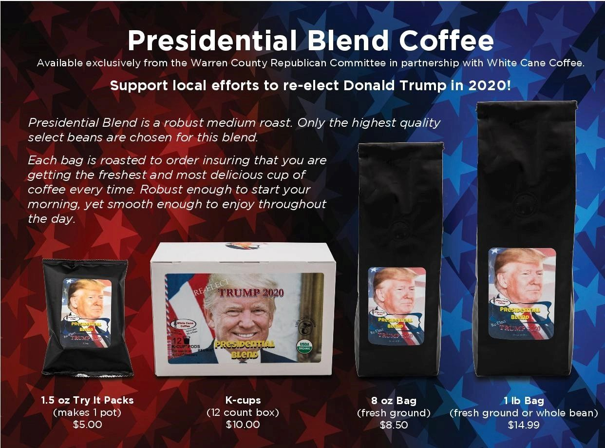 PRESIDENTIAL BLEND COFFEE