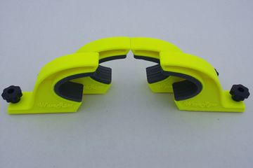 Florescent Yellow 3D Printed