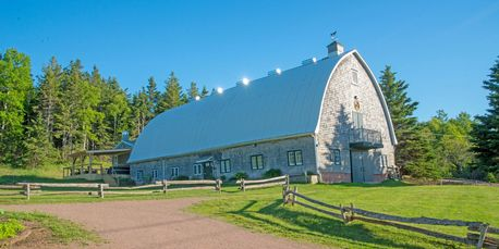 Rustic barn event venue in the country