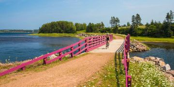 Confederation trail, heritage river