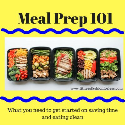 Meal Prep 101 by Amanda Michaud