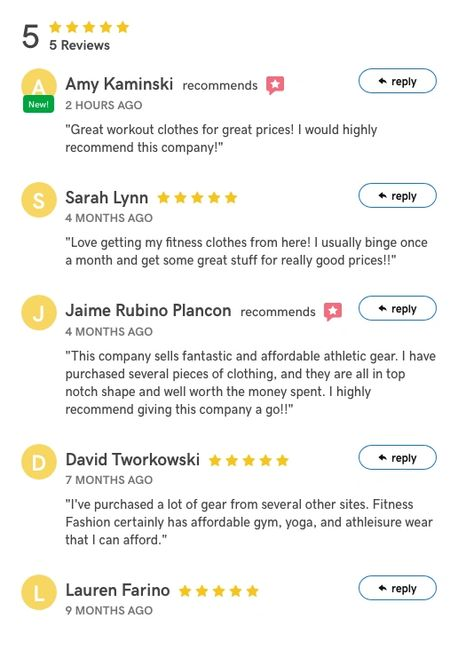 Our customer reviews say it all!
