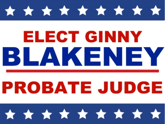 Ginny Blakeney for Probate Judge