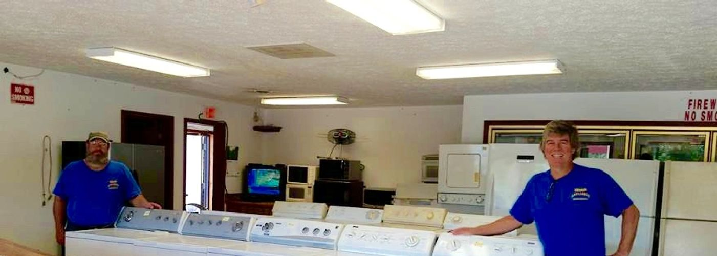 Appliance repair Marshfield Mo. Used appliances for sale Marshfield. Washer repair Marshfield 65706