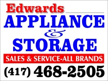 Edwards Appliance Sales/Service & Storage